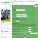 Online-Buchung mit Scooterplan.net Facebook-Applikation