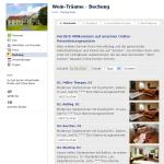 Online-Buchung mit Freizeitplan.net Facebook-Applikation