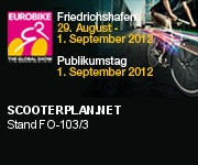 Scooterplan.net ist auf der Eurobike