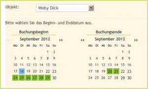 &quot;Flexibler Buchungskalender von Freizeitplan.net&quot;