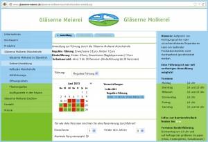 Gästeführungen mit FREIZEITPLAN.NET verwalten